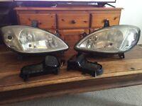 Mercedes Vito W639 headlights headlamps