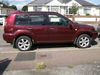 NISSAN X-TRAIL 2.2DCI WITH TOWBAR AND IN GOOD CONDITION