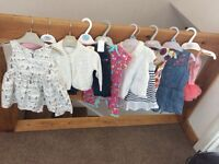 Baby girl clothing 6-9mths