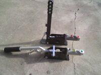 hydraulic hydro handbrake escort sierra nissan drift rally diff car twin cam etc
