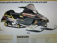 ** WANTED SKI-DOO ZX CHASSIS GOOD CONDITION W OR W/O ENGINE** Wa