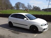 Seat Ibiza Sportrider 1.9 Tdi 3 Door in Stunning Candy White ★★NEW 12 MONTHS MOT★★SERVICE HISTORY ★