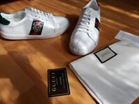 Brand new Gucci shoes for sale available with the recipt in size 6
