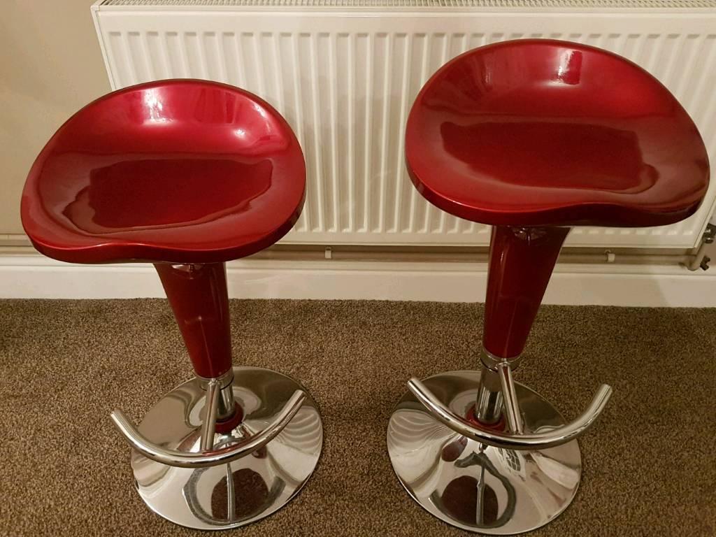 Pair of bar stools | in Norwich, Norfolk | Gumtree