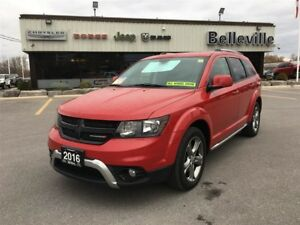 2016 Dodge Journey Crossroad-AWD-$79 Weekly!! Navigation-Sunroof