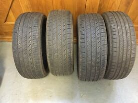 Tyres 195/55R16 In excellent condition 4 off.