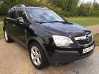 LHD LEFT HAND DRIVE OPEL ANTARA COSMO 2.0 CDTI AUTOMATIC 2007 BLACK LOW MILES WARRANTY PART EXCHANGE