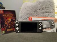 Nintendo Switch Lite (Boxed) with Minecraft Dungeons Hero Edition