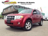 2008 Ford Escape XLT!!!   LEATHER AND SUNROOF!!!