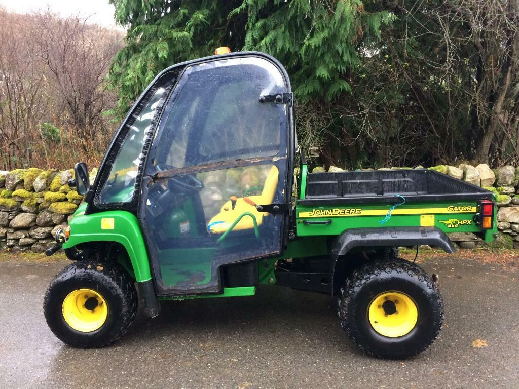 john deere hpx gator 4x4 in aberfeldy perth and kinross. Black Bedroom Furniture Sets. Home Design Ideas