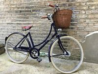 Classic city riding - Pashley Ladies bike - vgood condition with pump, baskets and lights-Size 17.5