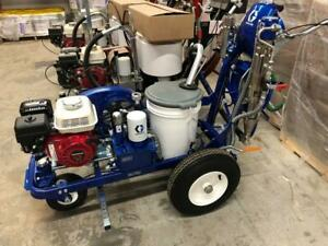 NEW Graco LineLazer 130HS Hydraulic Airless Parking Lot Line Striper Striping Machine In Stock Pick up or Ship Painting