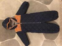 Baby boy snowsuit 12-18 months Only 5 pounds