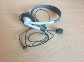 Official Microsoft Xbox 360 chat headset