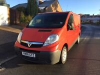 2008 VAUXHALL VIVARO RED 2.0 CDTI SWB LOW MILEAGE WE ARE VIVARO/PRIMASTAR/TRAFIC SPECIALISTS