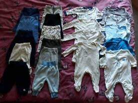38 Pieces Baby Boy Clothes Bundle 3-6 Months