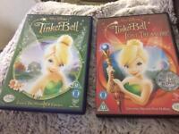 X2 Tinkerbell dvds