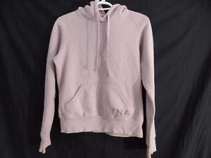 TNA (ARITZIA) size small pullover long sleeve sweatshirt hoodie great for any season GUC