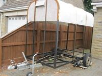 Rice Horse Trailer - stripped for conversion ready to rebuild