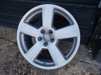 Alloy wheel for Audi 18''