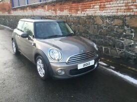 2013 BMW MINI DIESEL pan roof FULL SERVICE HISTORY free road tax PEPPER PACK not a cooper ONE MODEL