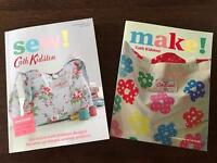2 Cath Kidston craft books: unused, excellent condition