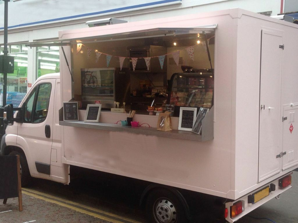 Beautiful Catering Van Food Truck Brand New In