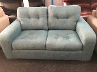New/Ex Display Dfs Quiz fabric 2 Seater Sofa