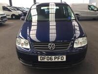 Volkswagen Touran 1.9 TDI PD 100 S 90,5dr(7 Seats)MOT 20/04/19 ONE OWNER FULL SERVICE HISTORY