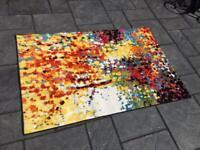 Viva Partridge - Multi Coloured Rug 150 x 100cm - Brand New