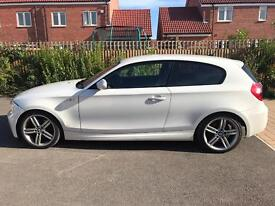 BMW 1 series white