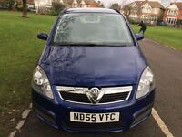 2005 Vauxhall Zafira 2.2 i 16v Life 5dr Automatic LOW MILEAGE +IF Keeper HPI Clear @07445775115@