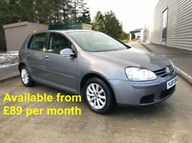 Volkswagen Golf (Jetta Passat A3 A4 Astra Focus Leon 320d) £89 per month