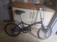 Velo-city 606 fold up bike