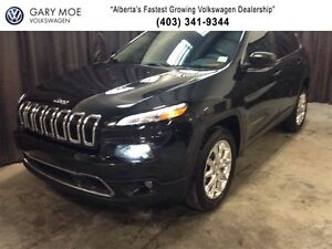 2015 Jeep Cherokee Limited w/ DVD Player