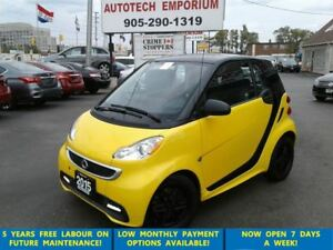 2015 smart fortwo passion Navi/Pano Roof/Power Steering