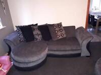 DFS Sofa + Swivel Chair