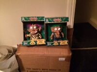 2 boxes of collectible troll toys