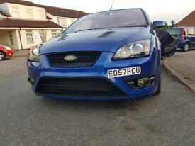 ford focus st2 performance blue