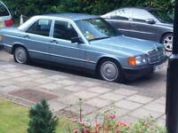 Mercedes Benz W201 190e, 1988
