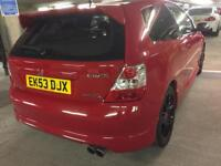 2004 honda civic type r rp3 dn only 69 k mls 1 prev owner try finding another like this bargain
