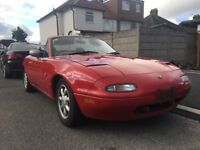Mazda MX5 Eunos Roadster 1.6 Manual Sports Convertible Rust free vw polo audi mg mini