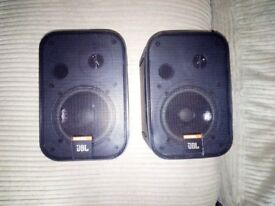 JBL Control One Monitor speakers,100w,excellent speakers,used but in great working condition
