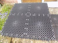 For Sale -42 Pavelock Interlocking Matting to lay on grass for parking etc.