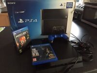 Play station 4 console 500Gb black