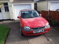 Vauxhall Corsa Breeze 1.4 8v No MOT Automatic Low Mileage of 38576 miles