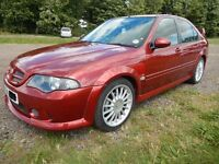MG ZS Saloon, Full Factory Bodykit. Firefrost Red. Superb car, rustproofed.