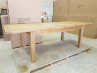 Large Extending Dining Table - *Wholesale Stock Clearance*