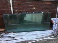 GONE pending collection*******Free Greenhouse glass, and skylights.