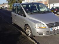 Fiat Multipla, gear linkage problems, tatty but reliable